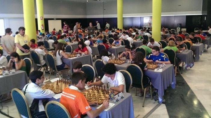 Comienzan en el Hotel Salobreña los campeonatos de España de ajedrez para menores