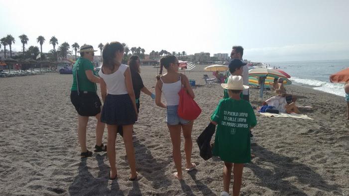 Niños de la Asociación Estrella de Mar vuelven a demostrar su compromiso con el medio ambiente