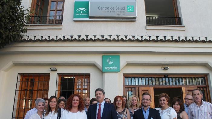 """El Centro de Salud de Salobreña pasa a llamarse """"Doctora Carmen Contreras"""" en recuerdo a la que fuera su directora"""