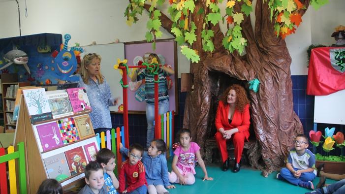 El Colegio de Infantil Juan Ramón Jiménez estrena una biblioteca especial
