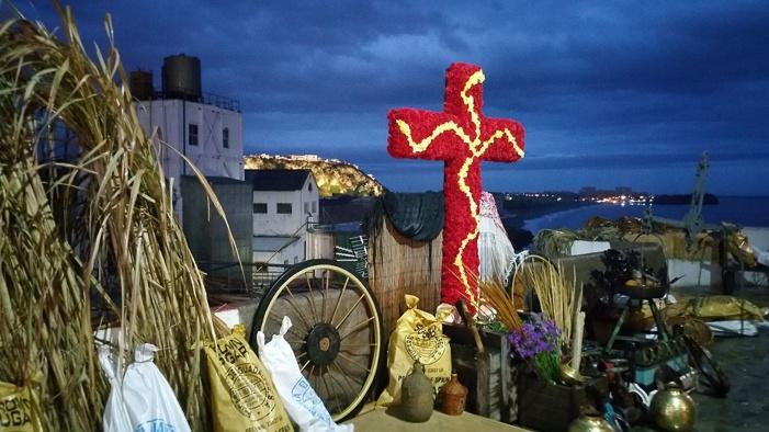 'La Portá' y 'Mazorca' ganan el concurso de Cruces de este año en Salobreña