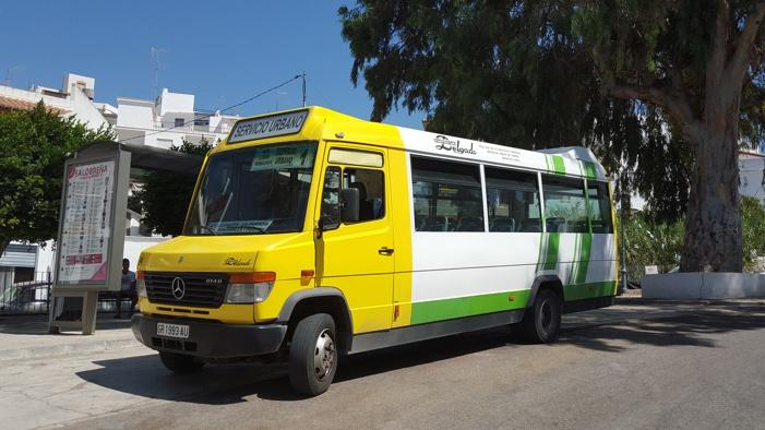 Comienza a funcionar el servicio de autobús urbano durante los fines de semana