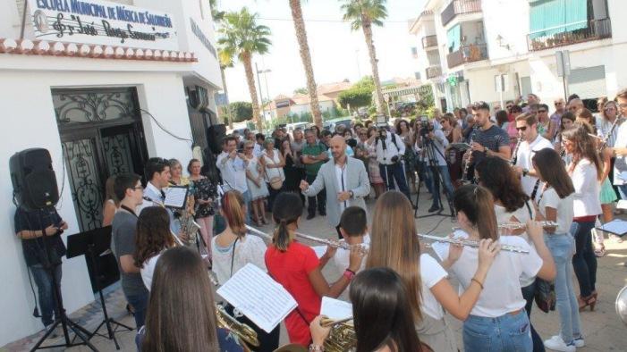 "Inaugurada la Escuela municipal de Música de Salobreña ""José Pareja Serrano"""