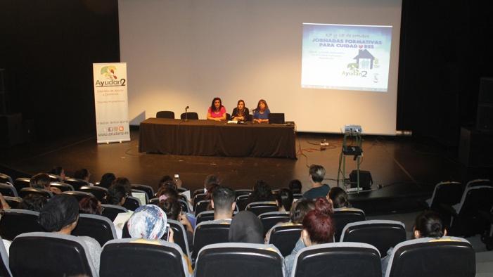 María José García insiste en la importancia de la formación para los cuidadores