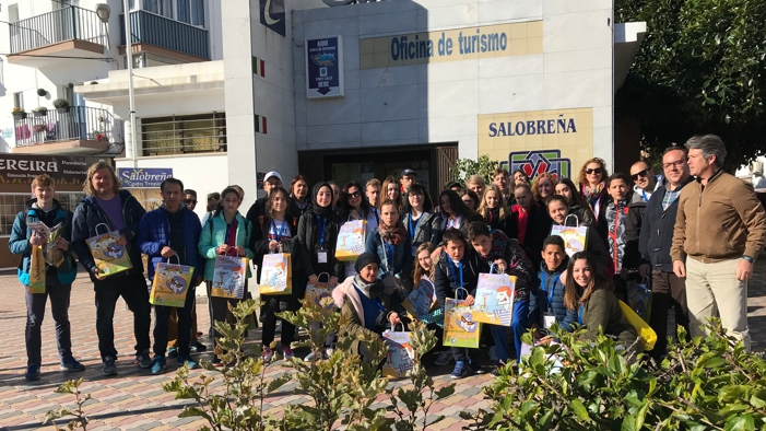 Alumnos del proyecto erasmus plus visitan salobre a for Oficina turismo turquia