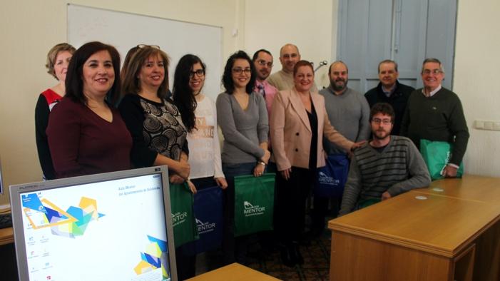 Los ganadores del concurso 'Mentorízate' han recibido hoy sus matrículas