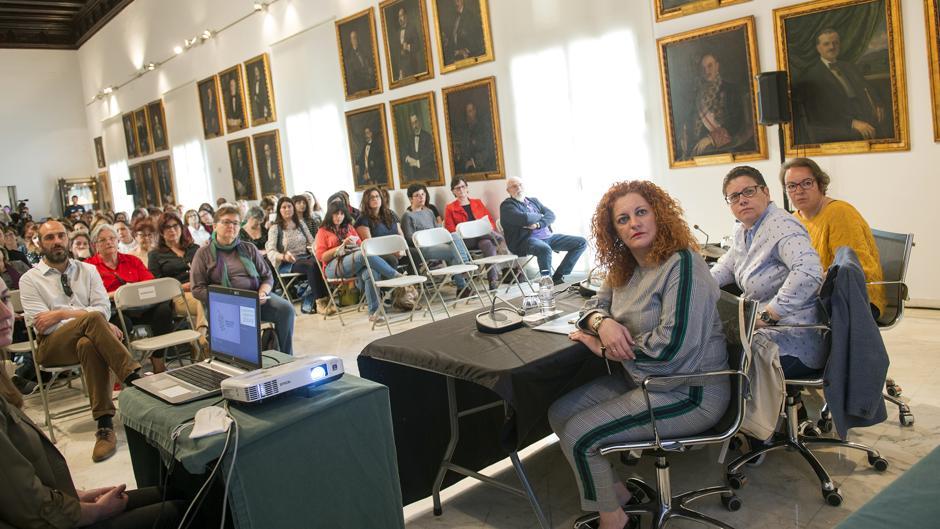 Mª Eugenia Rufino critica la falta de financiación del Pacto de Estado en los PGE