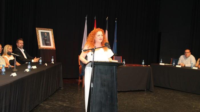 María Eugenia Rufino es ya alcaldesa de Salobreña para los próximos cuatro años