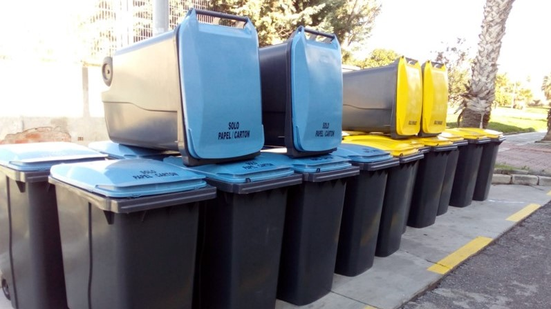 El ayuntamiento de Salobreña facilitará la recogida selectiva en el Casco Antiguo