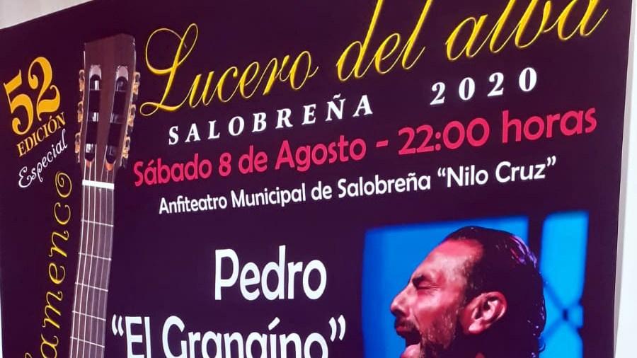 Este sábado se celebra la  edición 52 del Lucero del Alba con Pedro 'El Granaíno' como cabeza de cartel